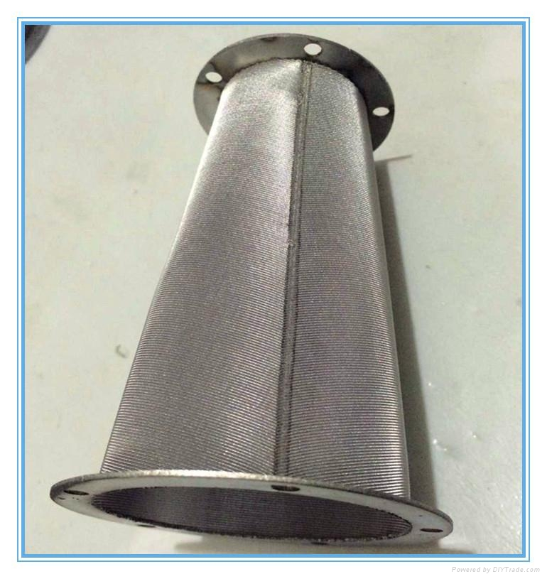 perforated metal removal water powder filter 4