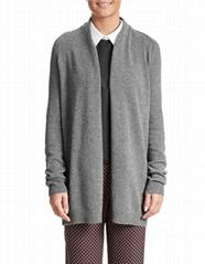 long sleeve cashmere cardigan men Open Cardigan sweater
