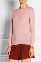 long sleeve 100% cashmere sweater Knitted women cashmere sweater