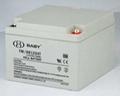 太阳能储能高性能胶体铅酸蓄电池12V 2
