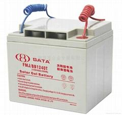 太阳能路灯专用12V40AH胶体蓄电池