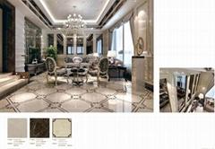 客厅使用复合石材