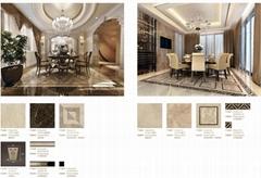 餐厅装修材料-欧式天然复合石材