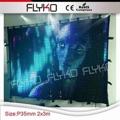 soft led video curtain xx photos led curtain