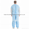 Disposable Non Woven Isolation Gown-China-Manufacturer-Hubei Xtra Safety Protect 2