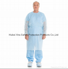 Disposable Non Woven Isolation Gown-China-Manufacturer-Hubei Xtra Safety Protect
