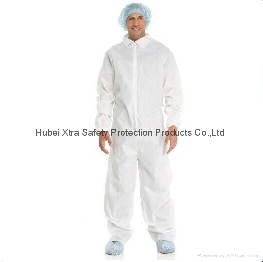 Disposable Non Woven Coverall-China-Manufacturer-Hubei Xtra Safety Protection 1