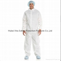 Disposable Non Woven Coverall-China-Manufacturer-Hubei Xtra Safety Protection