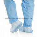 Disposable Non Woven Anti-Skid Shoe Cover-China-Manufacturer-Hubei Xtra Safety  1