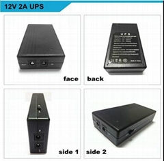 12V2A fingerprint time attendance  smart online UPS backup power