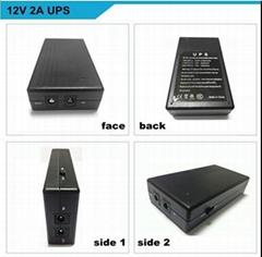 power supply 12V 2A fingerprint time attendance  smart online UPS backup power