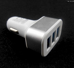 Universal 5V 2.1A 3 Port USB Car Charger Adapter For Smart Phone