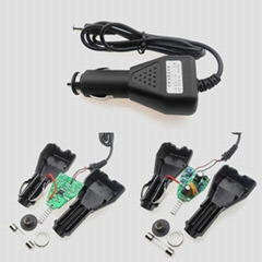 16.8V Car Charger for Spotlights camping lights dedicated Battery Pack