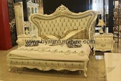 Neoclassic furniture bedroom bed