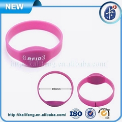 Waterproof Silicone RFID Wristband