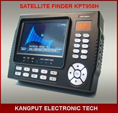New model 4.3 inch portable digital satellite finder signal meter tv sat finder