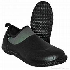 Green neoprene garden shoes water proof