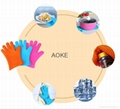 Anti-hot popular kitchen silicone glove