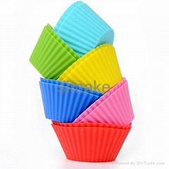 Silicone Cup Cake/ Muffin Baking Tray/Mold