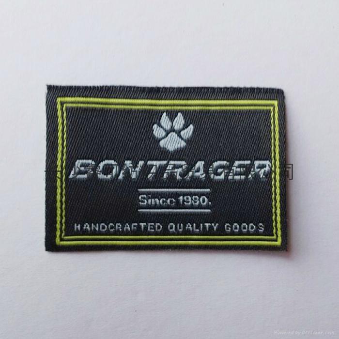 織嘜商標西裝口袋布標 3