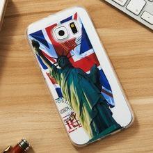 3D Soft TPU case For Samsung Galaxy S6 edge