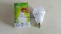 Finger touch Intelligent Emergency Bulb