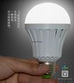 finger touch 10w emergency led bulb for