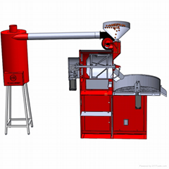 1kg high quality automatic coffee bean roasting machine