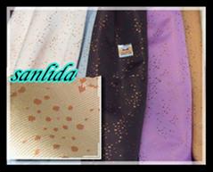 Permanent fire retardant woven curtain fabrics