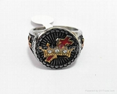 Fashion 316l stainless steel jewelry men's masonic rings