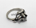 Fashion 316l stainless steel rings jewelry men's rings casting snake rings  4