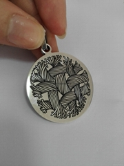 Fashion stainless steel pendnat with