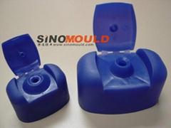 Flip top mould