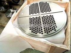 钛换热器管板