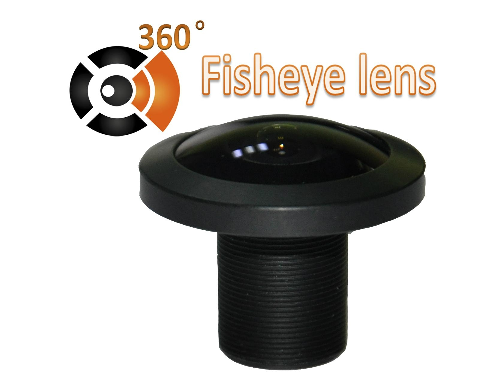 XS-6002 5megapixel super-wide angle fisheye lens for 360 degree action camera 1