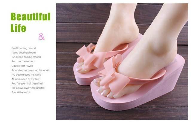 2015 new design womens flip flop 3
