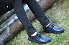 2015 mens genuine leather casual shoes