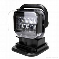 YTD6212 LED遥控车载探照灯 360旋转全方位照明