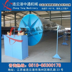 Glass fiber reinforced plastic pipeline equipment