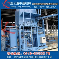 Glass fiber winding equipment