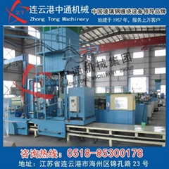 Glass tube production line