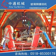Continuous filament winding machine