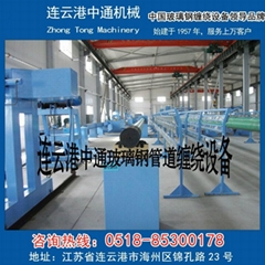 Pressure pipe winding machine