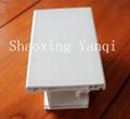 PVC Window&Door Profile with white color