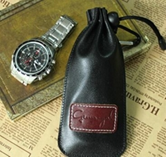 Leather Bags Watch Pouch THAE-001