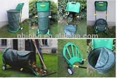 portable folding Multi-functional garden cart