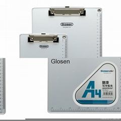 office use clip board non-slip clip board aluminium edging