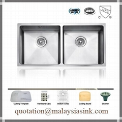 35 Inch Large Kitchen Stainless Steel Sinks