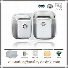 Malaysia SUS304 Stainless Steel Sink