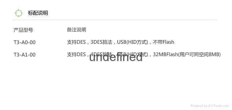 峰華T3系列電子智能密鑰 USB通訊 大容量存儲 無趨即插即用 4
